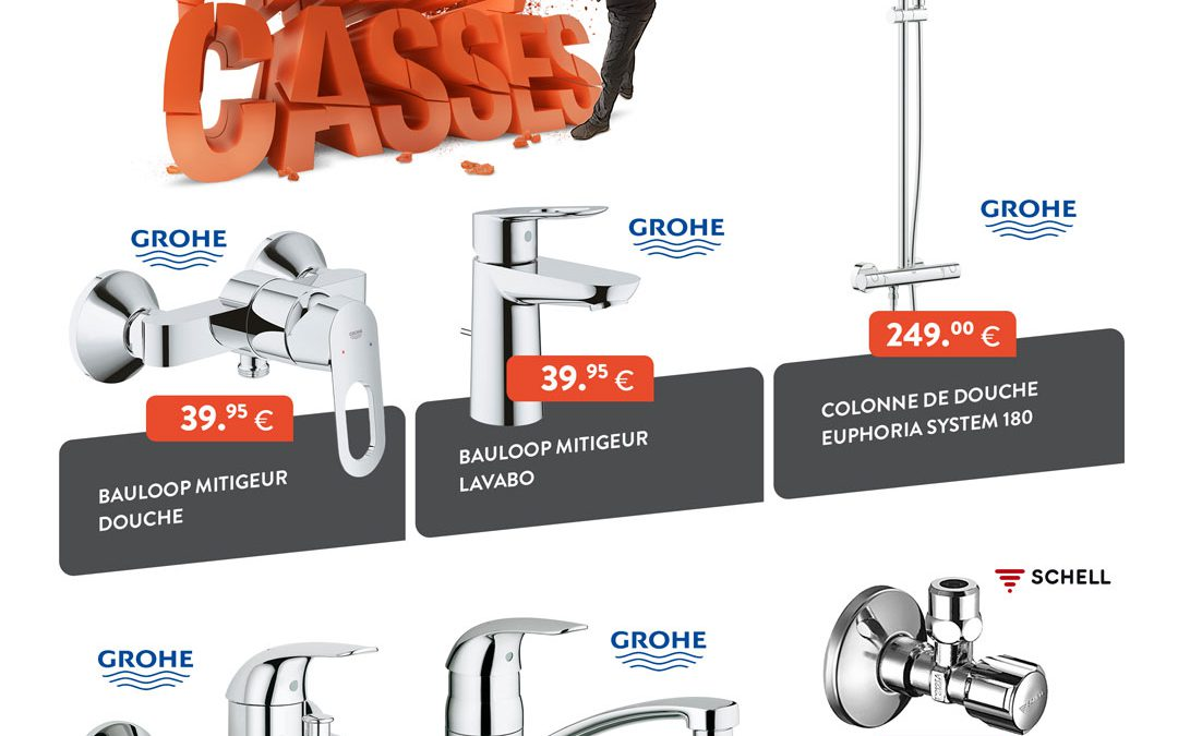 Promo | Pulsactions Robinetterie