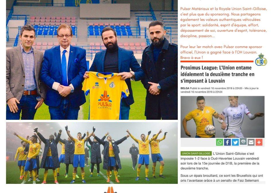 Actu | Nouveau Sponsoring: Royale Union St Gilloise