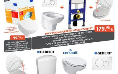 Promo |🚽 WC et accessoires WC en promo !!!